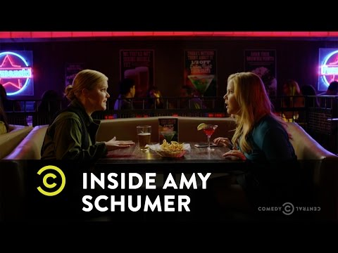 Amy Schumer Gives Herself Advice Terminator Style