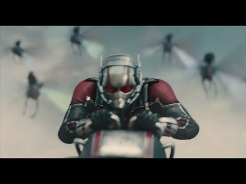 Ant-Man Leads an Armada of Flying Ants in New TV Trailer!