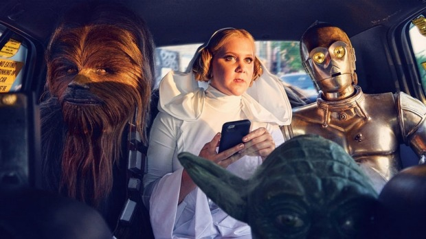 Amy Schumer's Star Wars Photo Shoot