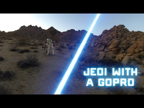 Watch What Happens When A Jedi Uses A GoPro!