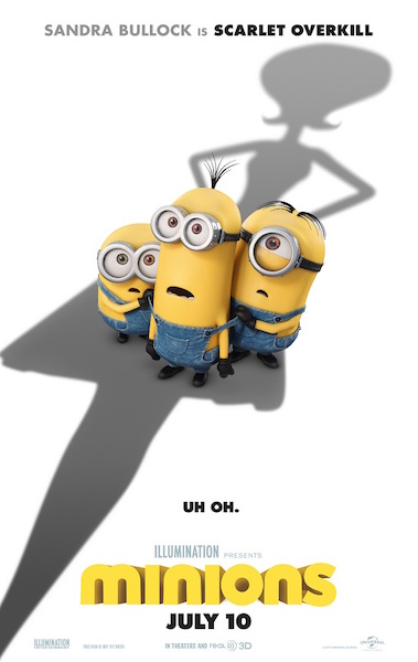 Movie Review – MINIONS