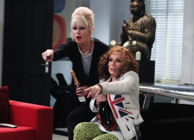 Sweeties, There Will Be An AbFab Movie!!!
