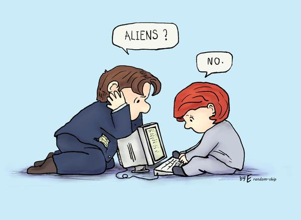 X-Files / Peanuts Fan-Art Mashup Is the Cutest!