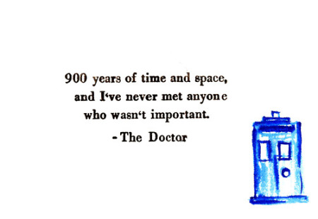 Doctor Who – A Story of Hope