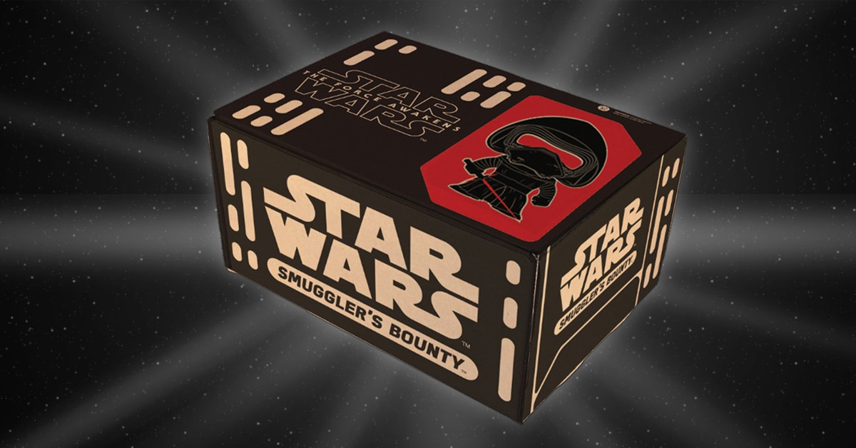 Starwars.com and Funko Reveal the New Star Wars Subscription Service, Smugglers Bounty!