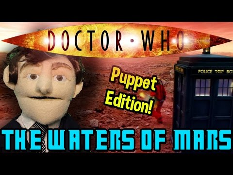 Doctor Who: The Waters Of Mars…Puppet Style