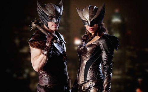 First Look Pic at Hawkgirl and Hawkman for CW's Legends of Tomorrow!