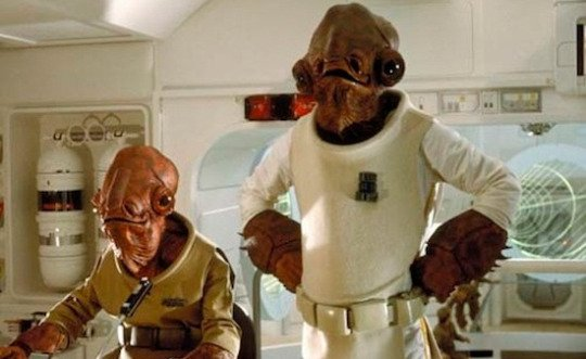 Everyone's Favorite Admiral Ackbar Will Be Seen in Star Wars: The Force Awakens!
