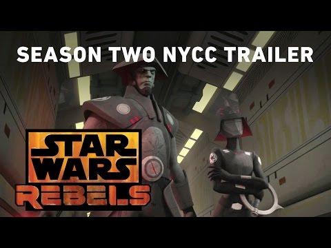 Star Wars: Rebels NYCC Trailer!