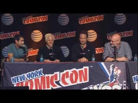 New York Comic Con 2015 X-Files Panel!