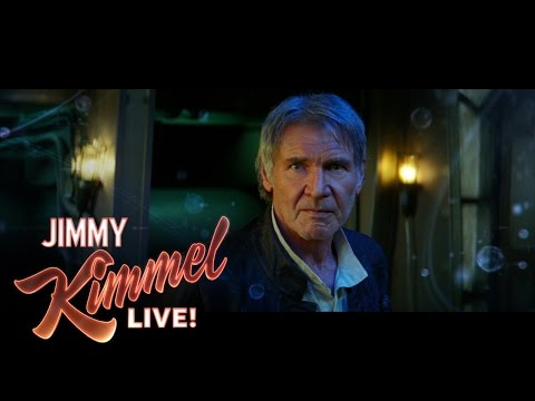 Jimmy Kimmel Has His Brooklyn Crew Re-Voice the Star Wars: The Force Awakens Trailer