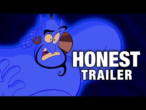 Honest Trailers Delivers Hilarious Commentary on Disney's Aladdin!