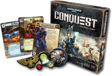 Game Review – WARHAMMER 40,000 CONQUEST – The Card Game