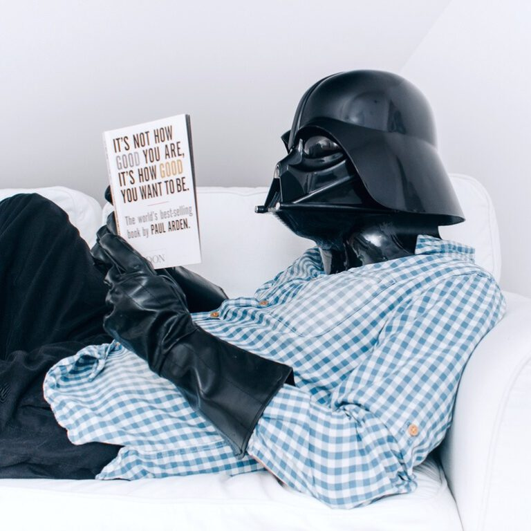 Darth Vader – He's Just Like Us!