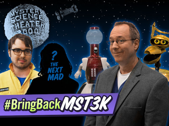 Mystery Science Theater 3000 Meets It's Goal And Names A Successor To Joel Hodgson!