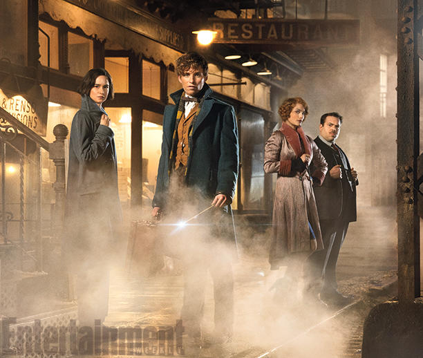 The First 8 Spellbinding Images from 'Fantastic Beasts and Where to Find Them' – A Film in the Harry Potter Universe