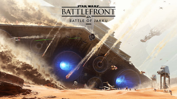 STAR WARS BATTLEFRONT: The Battle of Jakku Gameplay Trailer