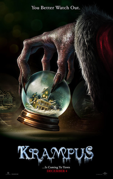Movie Review – KRAMPUS – What the Hell Is Wrong with Germans?!?