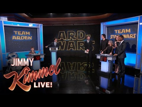Watch This 8 Year Old School The Cast Of Star Wars: The Force Awakens In Star Wars Trivia!