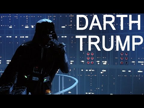 Hilarious Darth Vader Montage Featuring Real Donald Trump Sound Bites as Vader's Voice!!!