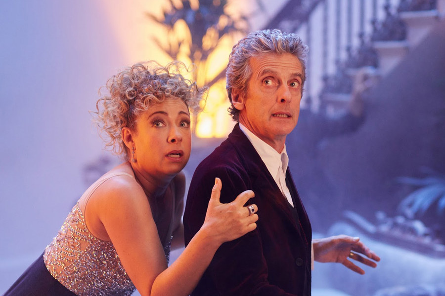 Alex Kingston On Doctor Who: The Husbands Of River Song