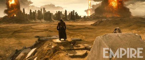 New Round of Pictures for Batman v. Superman: Dawn of Justice Hint that Darkseid is Coming!