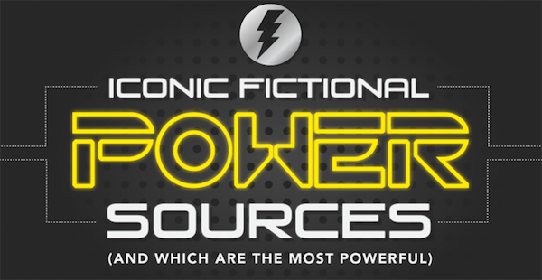 The Most Iconic Fictional Power Sources (and Which Are the Most Powerful)