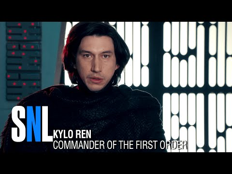 SNL: Undercover Boss With Kylo Ren