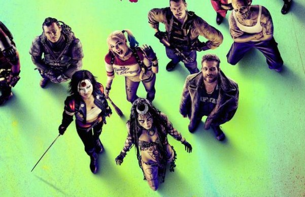 NEW SUICIDE SQUAD POSTER FEATURES THE WHOLE TEAM!