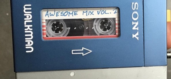 IT'S THE AWESOME MIX VOL.2 FROM GUARDIANS OF THE GALAXY, VOL.2!