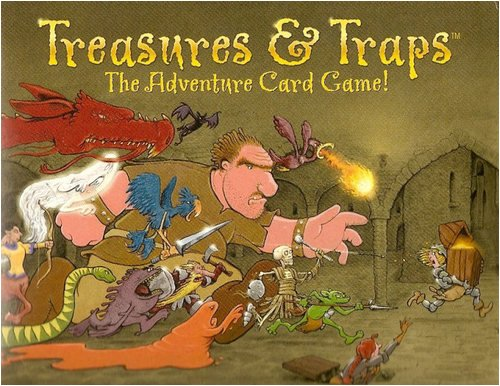 Game Review – TREASURES & TRAPS – Time Is A Treasure, Why Waste It