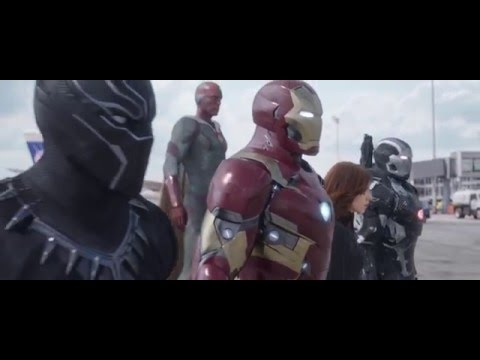 New Trailer for Captain America: Civil War Bucky Tries to Shoot Stark!