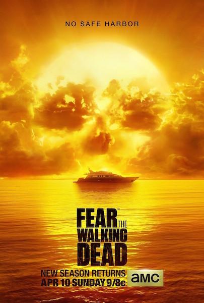 Season 2 Fear the Walking Dead Key Art Reveals 'No Safe Harbor'