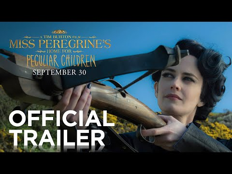 Fox's Official Trailer For Tim Burton's New Movie Miss Peregrine's Home For Peculiar Children!