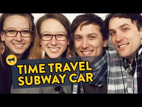 Improv Everywhere Uses Four Sets of Twins to Pull Amazing Time Travel Prank on New York Subway