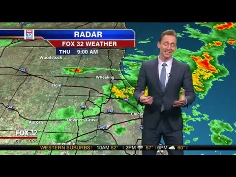 WATCH Tom Hiddleston Deliver a Chicago Weather Report as Loki and Blame It on Thor!