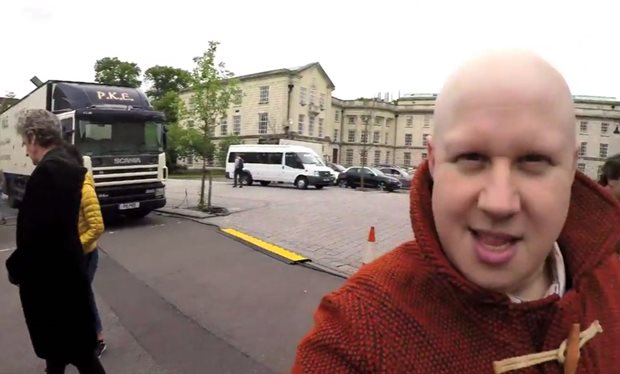 Matt Lucas Gives Us A Quick Peep At His First Day On The Doctor Who Set!