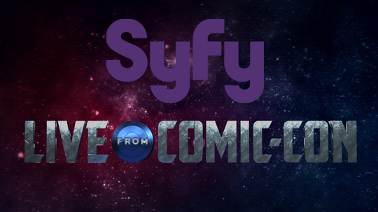 Syfy Presents Live From Comic-Con