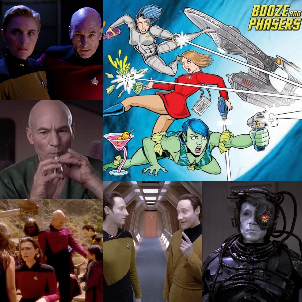 Ep 4 – Guests Brian D Bradley, Kaj-Erik Eriksen and Fave Next Generation Episodes on BOOZE AND PHASERS!