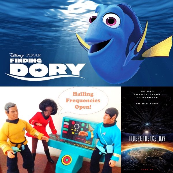 WEEKEND BOX OFFICE BREAKDOWN: June 24-26, 2016 – Finding Dory Holds Off an Alien Invasion