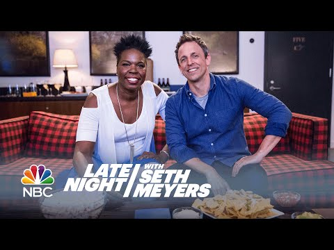 Leslie Jones And Seth Meyers Watch Game Of Thrones: The Battle Of The Bastards