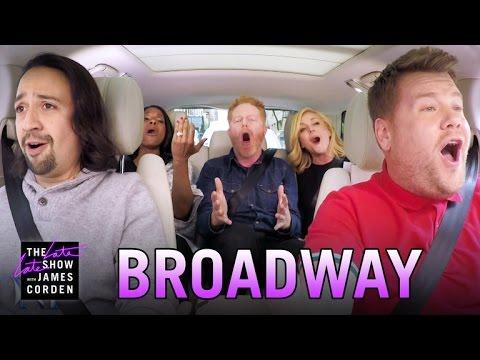 James Corden's Broadway Carpool Karaoke Is Epic!