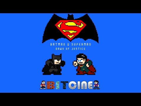 8-Bit Batman v Superman: Dawn of Justice is a Perfect Summation of the Film!