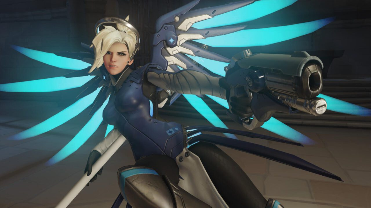 Overwatch: 12 Mercy Battle Royale