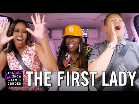 The First Lady Jumps In The Car With James Corden For A Very Special Carpool Karaoke!