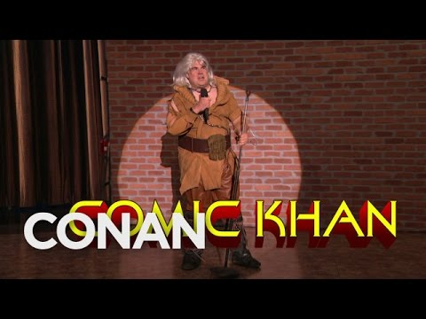 Conan O'Brien Announces His Return To San Diego Comic-Con With The Help Of Comic Khan!