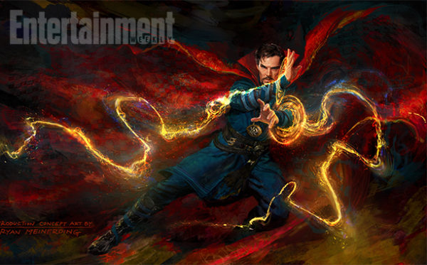 New Concept Art for Doctor Strange is Mystical and Magical in Every Way!