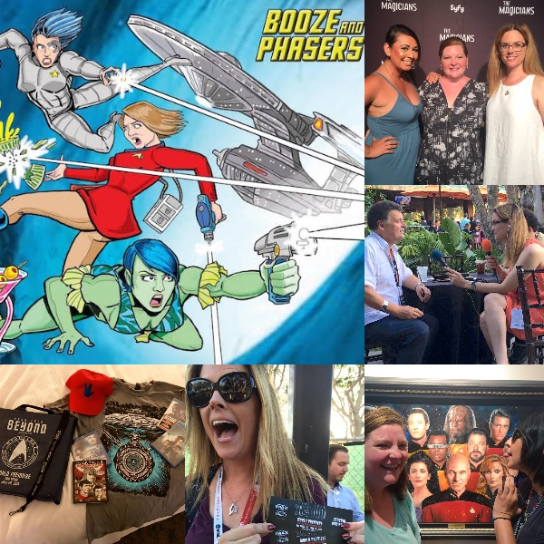 Ep 8 – Star Trek: Beyond and Comic-Con Recovery/Memories on BOOZE AND PHASERS
