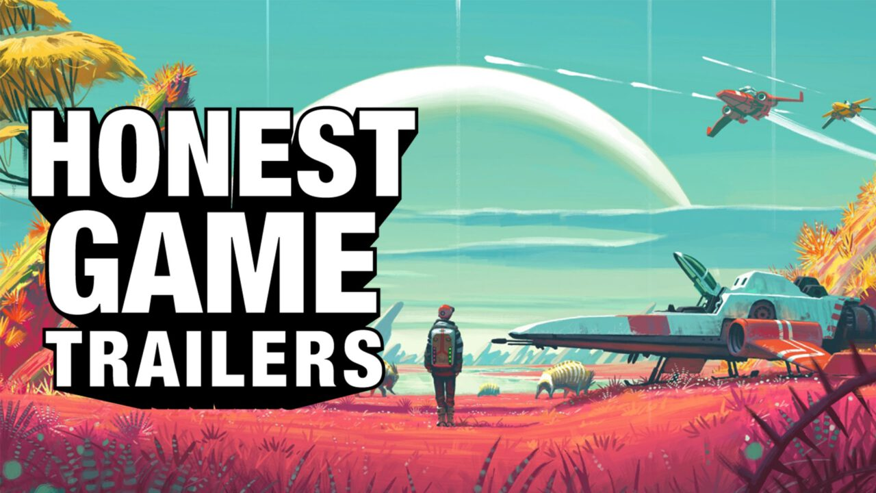 No Man's Sky Gets the Honest Game Trailers Treatment