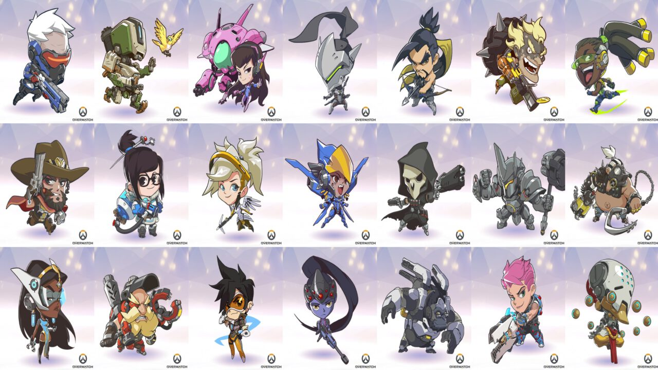 Hey Blizzard!  Don't Forget About the New Characters in All Your Overwatch Extras